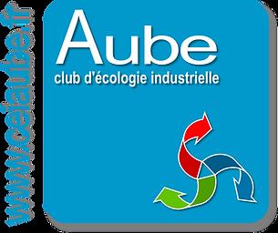 Logo du Club d'écologie industrielle de l'Aube