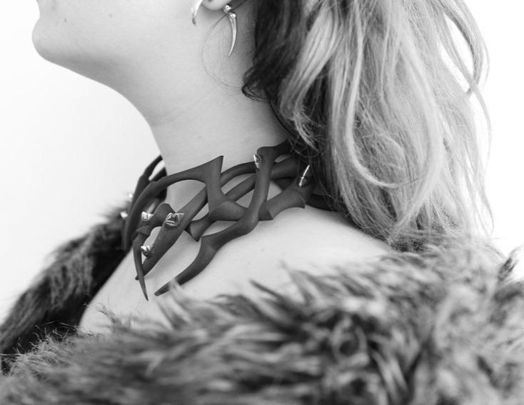 Daisy-Grice-twisted-tales-neckpiece-nylo