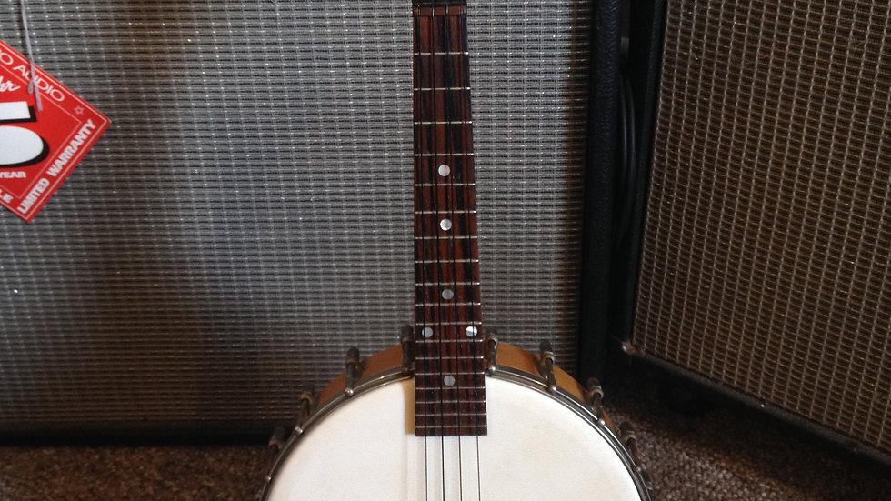 """1920's """"The Gibson"""" UB Trapdoor Ukulele-Banjo"""