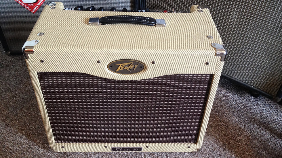 "Peavey Classic 30 II 1x12"" 30-Watt Guitar Combo with Celestion Midnight 60 Speak"