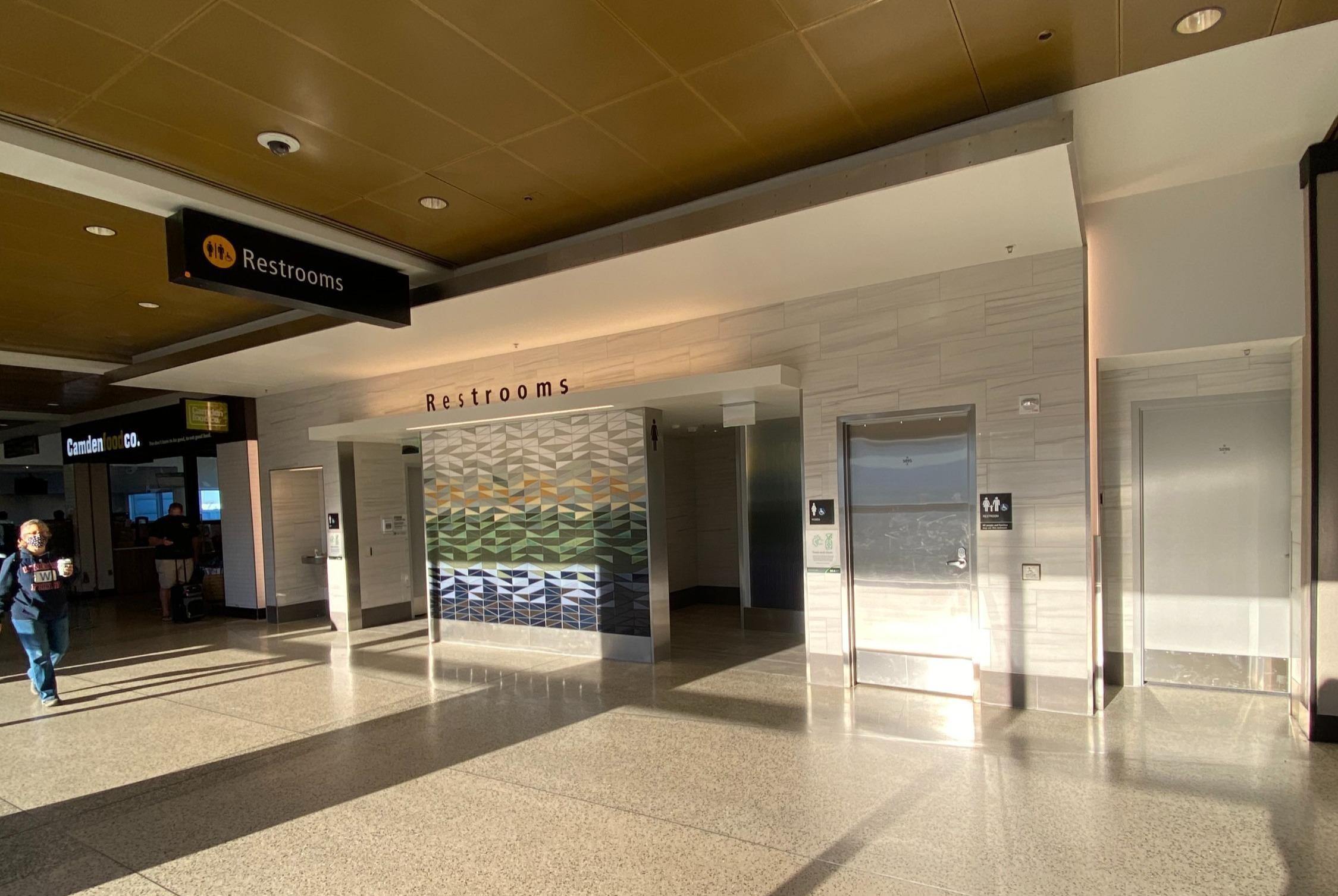 Sea-Tac Airport Restrooms