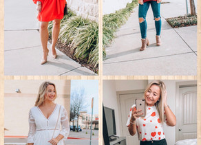 4 VALENTINE'S DAY OUTFITS