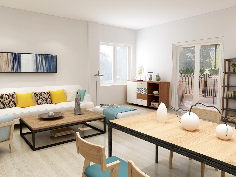 Villa Benedetta rendering interni