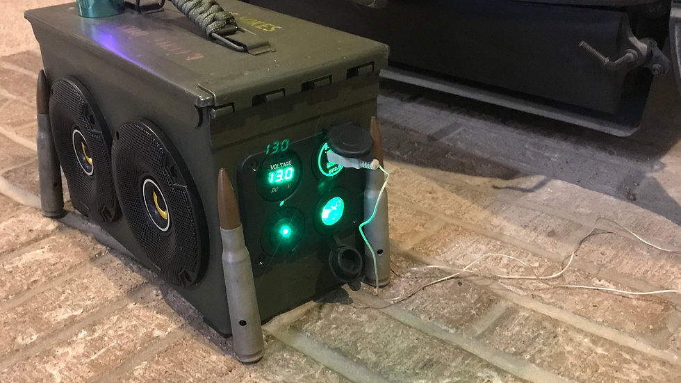 50 cal Bluetooth speaker