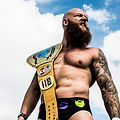 Hipstar Kyle Ashmore with BEW belt