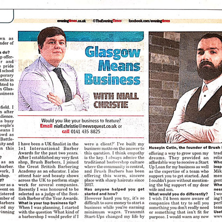 Evening Times has shared our story