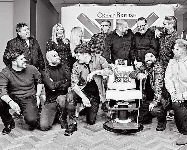 Great British Barbering Academy Education Team