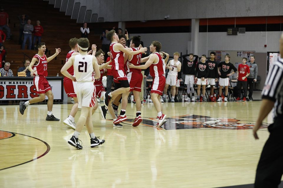 Celebration after Chippewa Falls game winner
