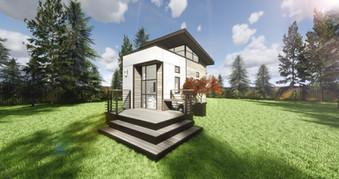 Contemporary Tiny Home Prototype - Montana