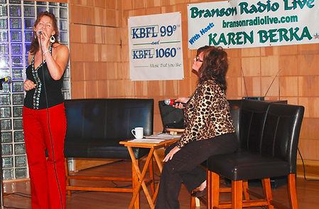 Elizabeth Lakamp singer songwriter entertainer Branson Missouri Karen Berka Show
