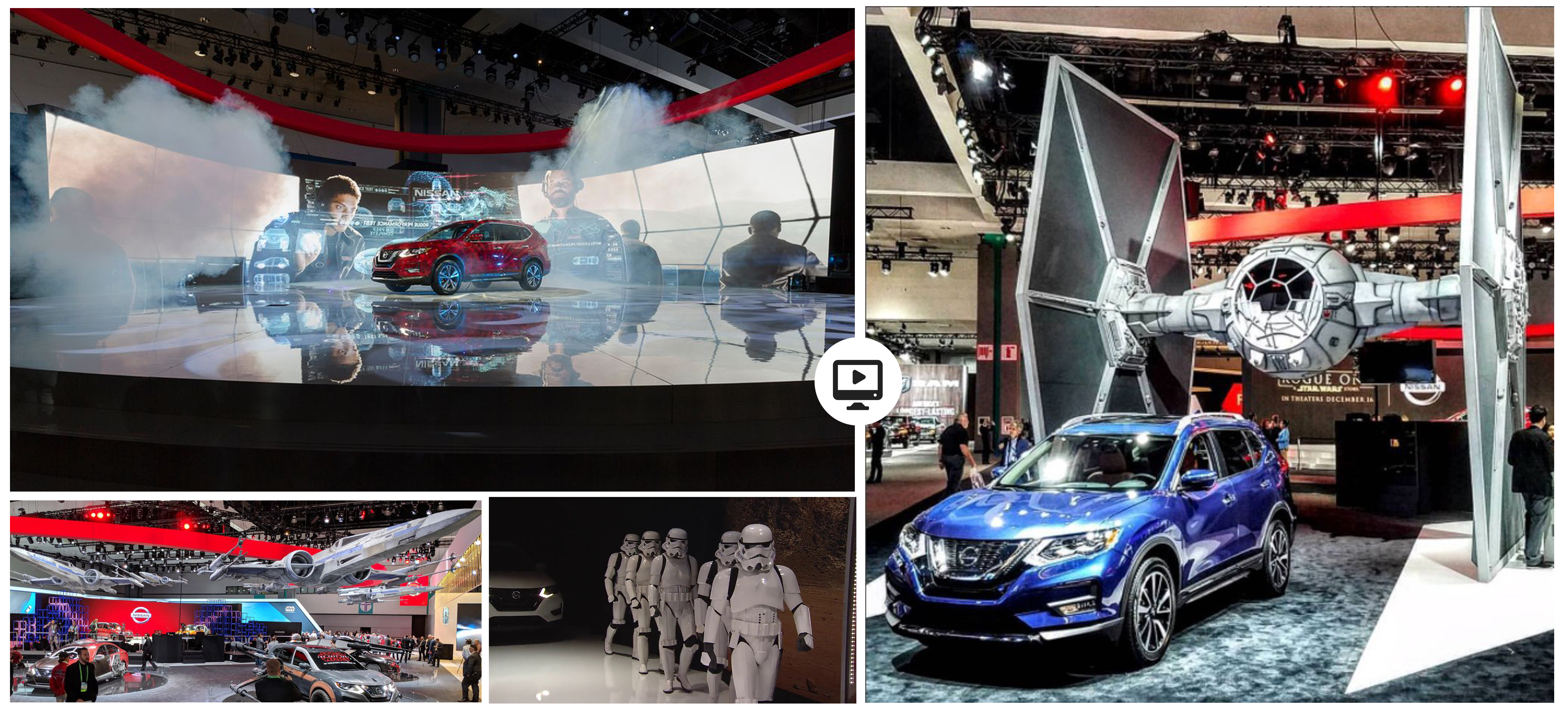 Nissan Rogue One Press: LA Autoshow