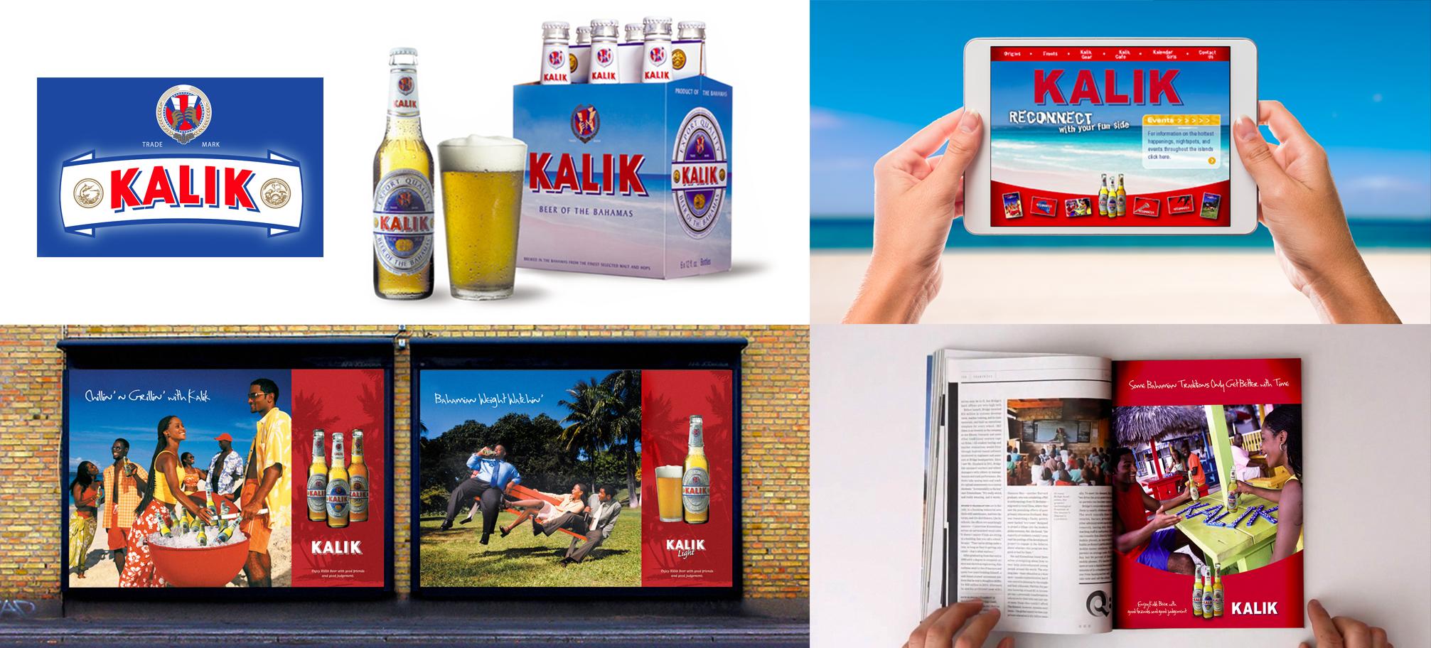 Rebrand + relaunch of Kalik Beer