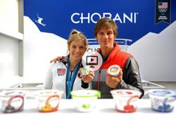 Chobani's 100 Days to the Olympics