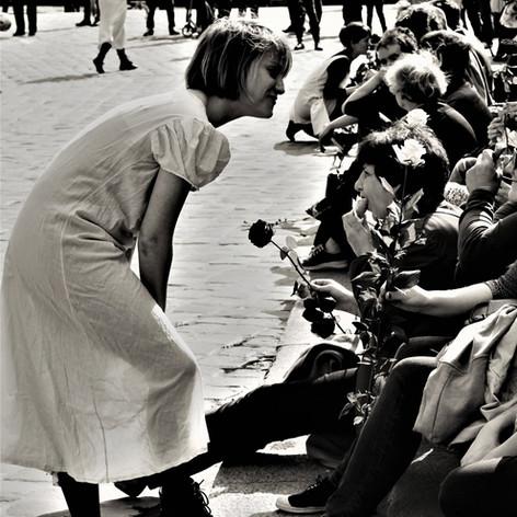 """Performance """"De femme à FEMMES"""" / Photo de Céline Foucherau"""