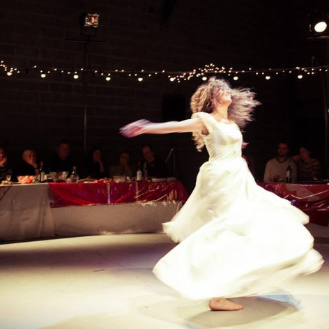 """Spectacle """"Le Banquet de la vie"""" / Photo Vincent Vanhecke"""