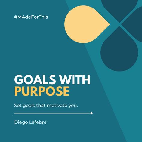 Goals With Purpose