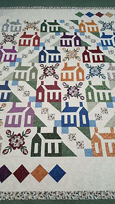 Picture of hand made quilt