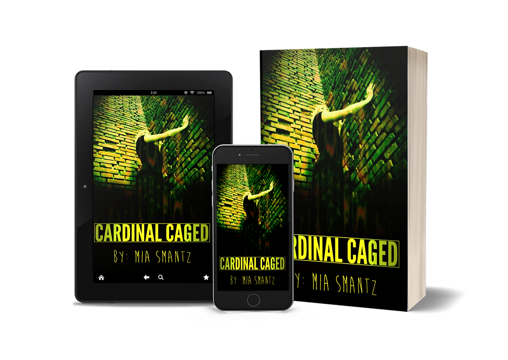 Cardinal Caged book 2 of The Cardinal Series by Mia Smantz, reverse-harem series