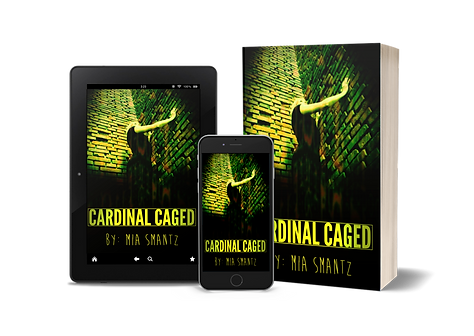 Cardinal Caged Mia Smantz Book 2 of Cardinal Bird Series by Mia Smantz Reverse-Harem Series