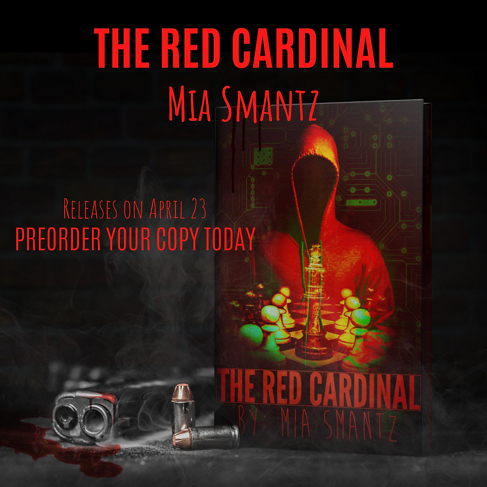 The Red Cardinal, last book of the Cardinal series by Mia Smantz, Reverse-Harem series