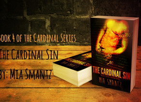 2nd Sneak Peak of The Cardinal Sin, Book 4 of the Cardinal Series by Mia Smantz - Reverse-Harem Book