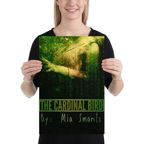The Cardinal Bird - Photo paper poster