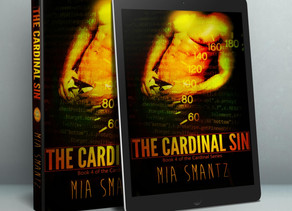 1st Sneak Peak of The Cardinal Sin, Book 4 of the Cardinal Series by Mia Smantz - Reverse-Harem Book