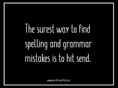 Edits: The Good, The Bad, and the Grammatically Correct.