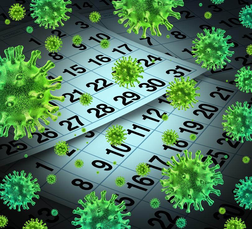 calendário gripe Dra Cleonir