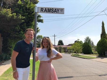 Jason visits Ramsay St!!