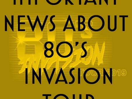 80s Invasion Tour