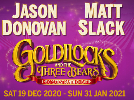 Jason makes his Panto debut in 2020!