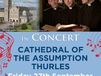 'An Evening with The Priests' to take place at Cathedral of the Assumption in Thurles