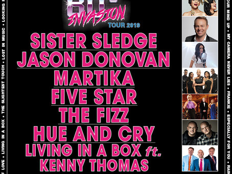 Jason joins line up for 80s Invasion Tour!