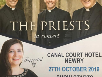 The Priests Concert in Newry