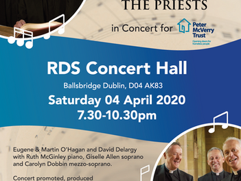 Concert in aid of the Peter McVerry Trust in April 2020