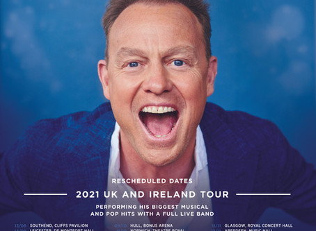 2021 Revised Tour Dates