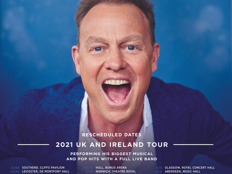 2021 Revised Tour Dates
