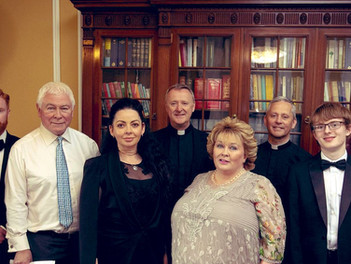 The Priests play a concert to HRH at Hillsborough Castle
