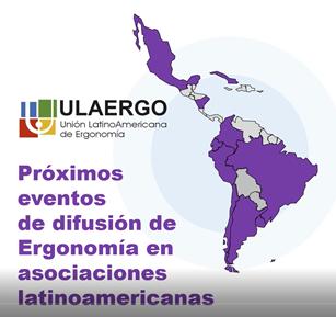 Eventos de Ergonomia na América Latina - segundo semestre 2021.