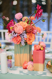 watercolor vases