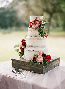 square wod cake stand