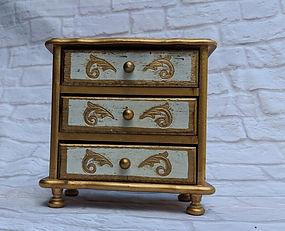 vintage tier drawer box