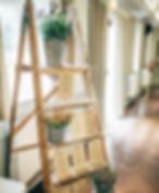 vintage rustic ladder