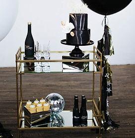 gold cart