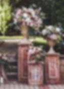 rustic column