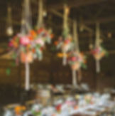 various hanging terracotta vases