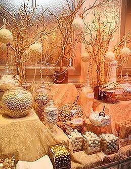 candy buffet jars