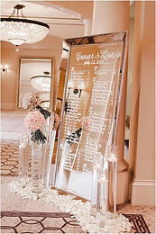 large mirror sign