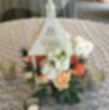 vintage white lantern